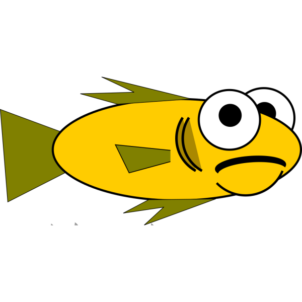 Gold Fish PNG Clip art