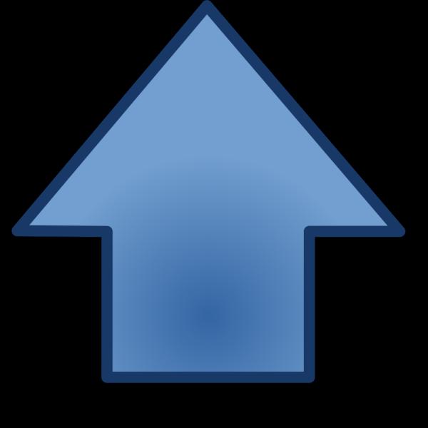 Blue Go Up PNG Clip art