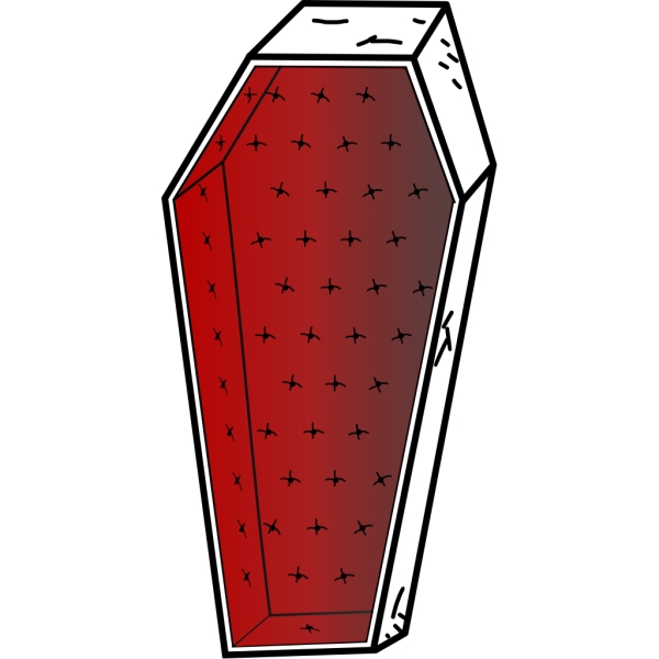 Coffin PNG Clip art