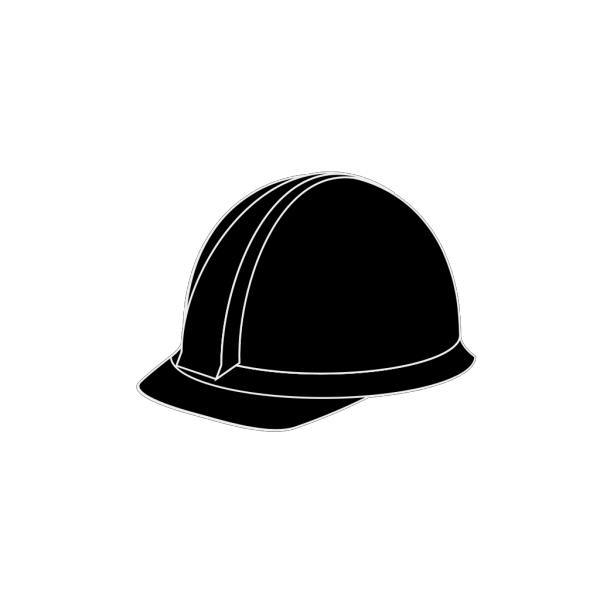 White Hard Hat 2 PNG Clip art