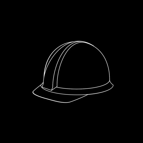 White Hard Hat 2 PNG Clip art