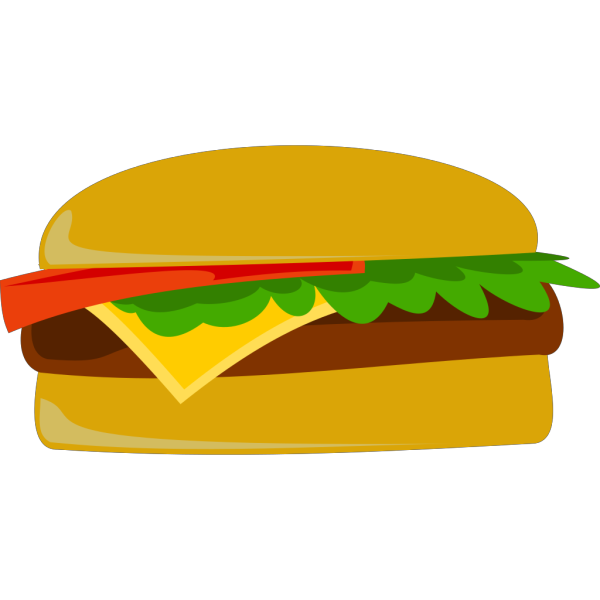 Cheese Burger PNG Clip art
