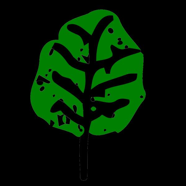 Light Green Leaf PNG Clip art