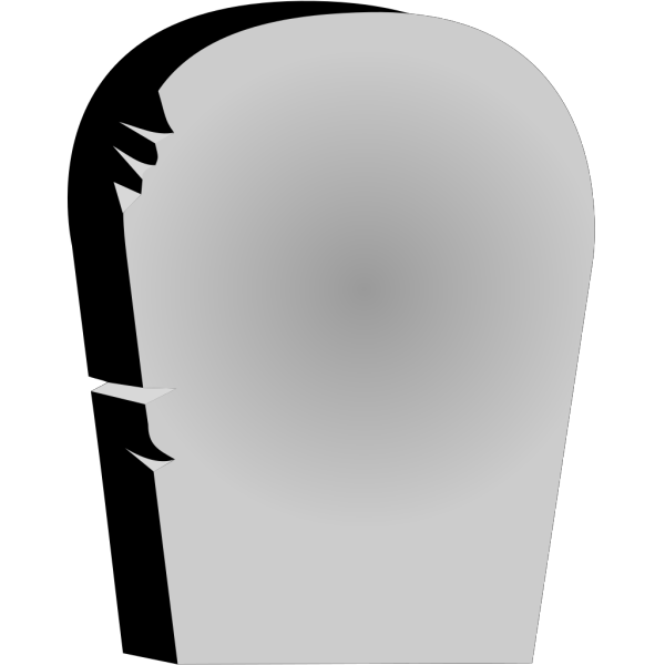 Rounded Tombstone PNG Clip art
