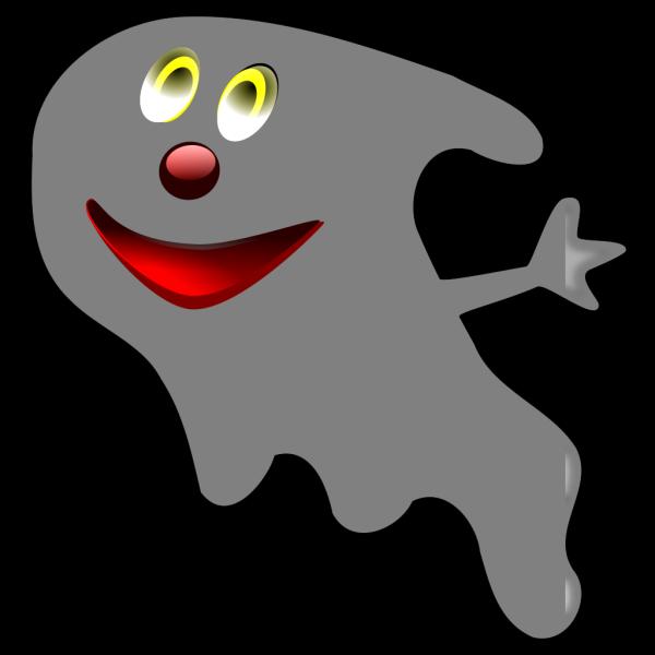 Cartoonish Ghost PNG Clip art