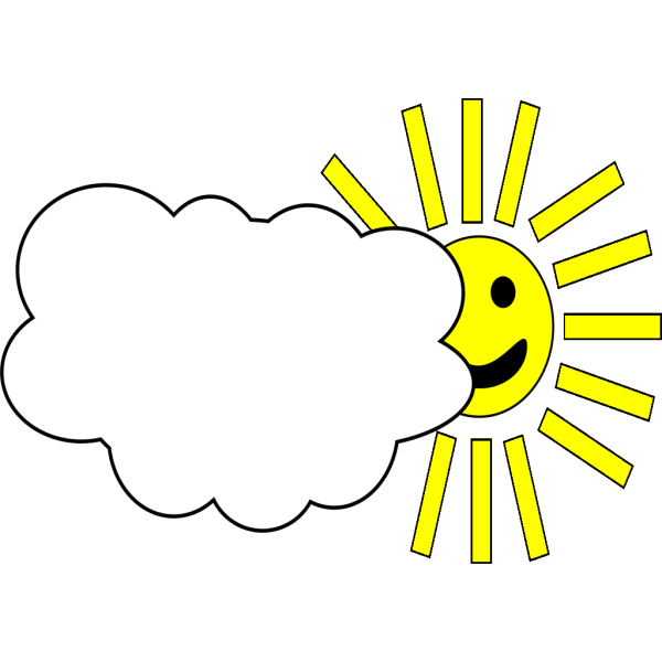 Cloudy Weather PNG Clip art
