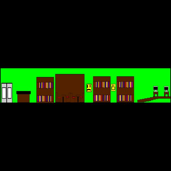 Cartoon City Scape PNG Clip art