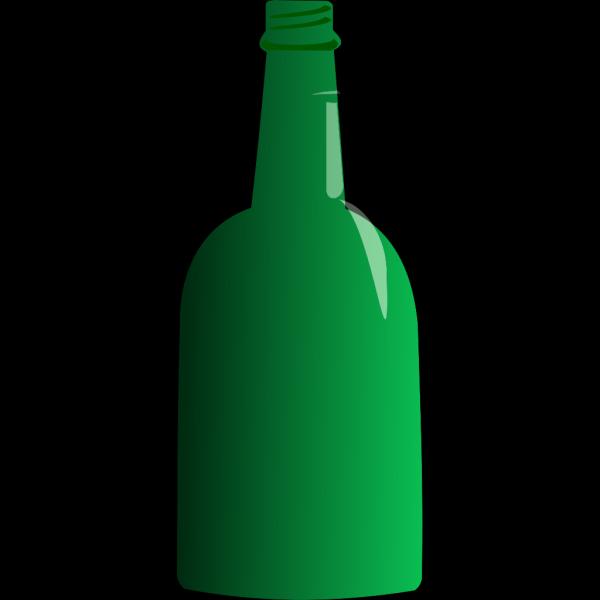 Green Bottle 2 PNG Clip art