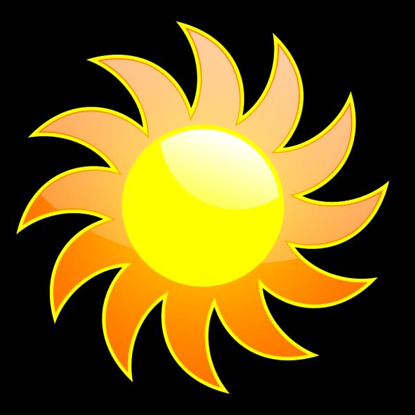 Sun 3 PNG Clip art