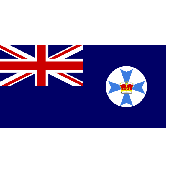 Flag Of Queensland Australia PNG images
