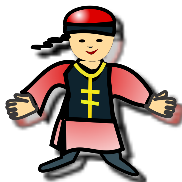 Chinese Boy Icon PNG Clip art