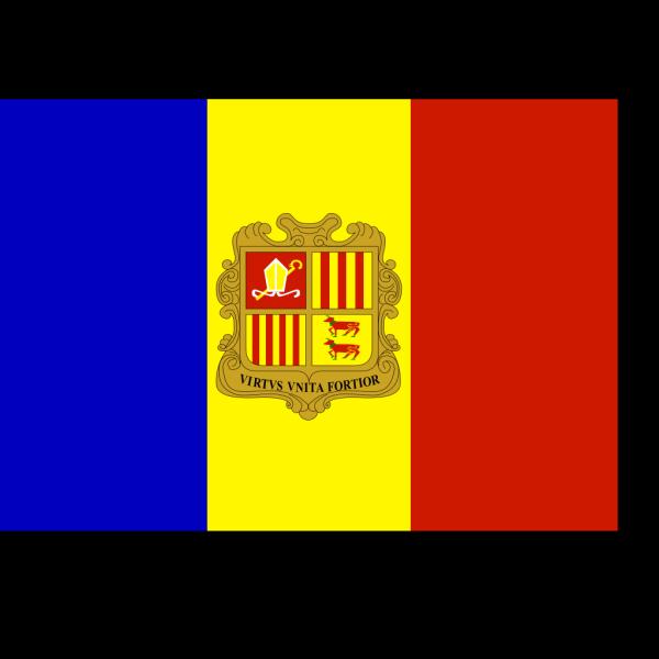 Flag Of Andorra PNG Clip art