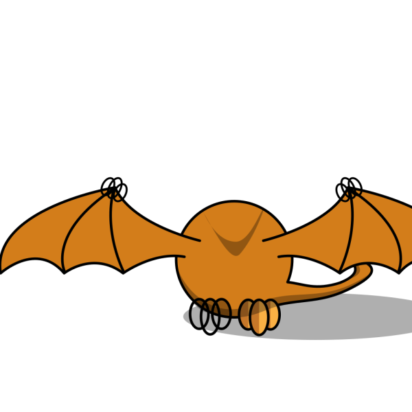 Pterodactly Lower Wings PNG Clip art