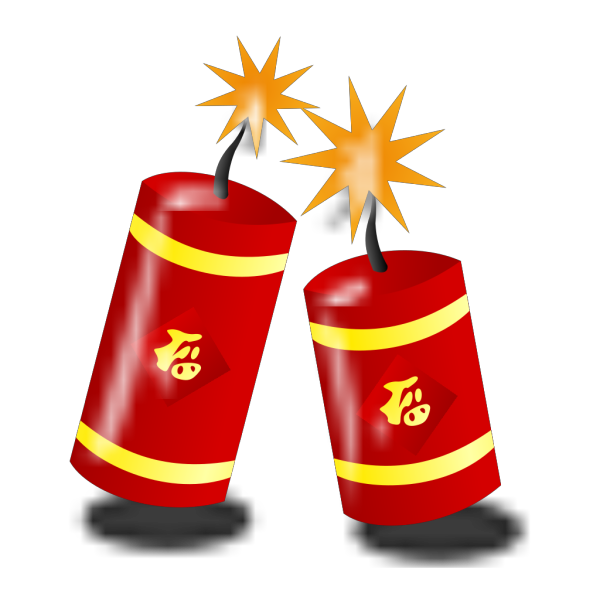 Chinese Fireworks PNG Clip art