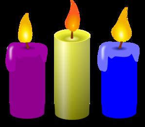 Hanukkah Candles PNG Clip art