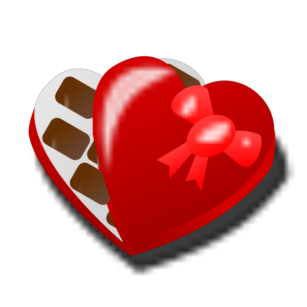 Valentine Chocolate Box PNG Clip art