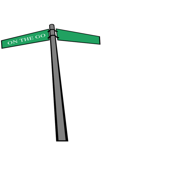 Wood Street Sign PNG Clip art