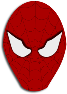 Spiderman Face PNG images
