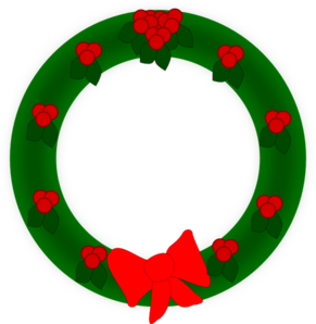 Holiday Wreath PNG Clip art