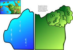 Creation Scene PNG Clip art
