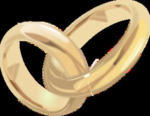 Wedding Rings 2 PNG Clip art