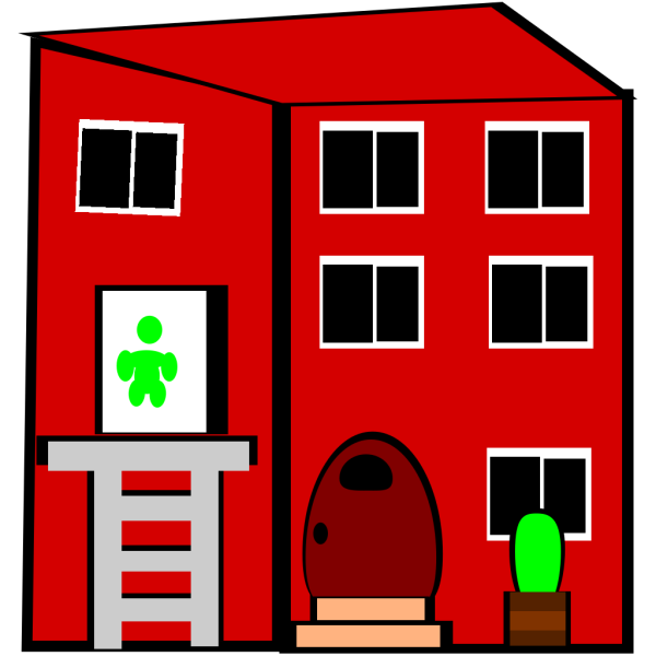Apartment Building PNG images
