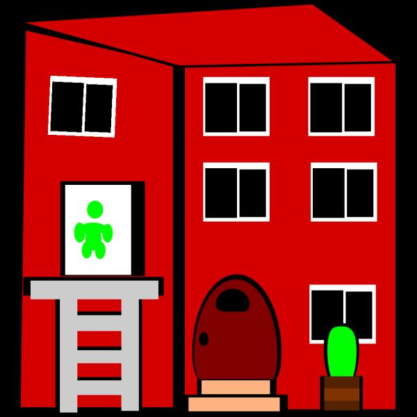 Apartment Building PNG Clip art