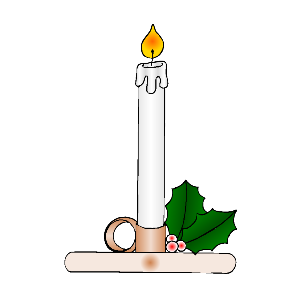 Christmas Candle PNG Clip art