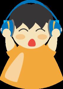 Boy With Headphones 3 PNG Clip art