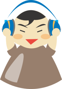 Asian Boy With Headphones PNG images