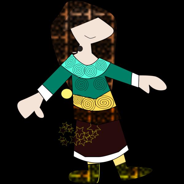 Pattern Woman PNG Clip art