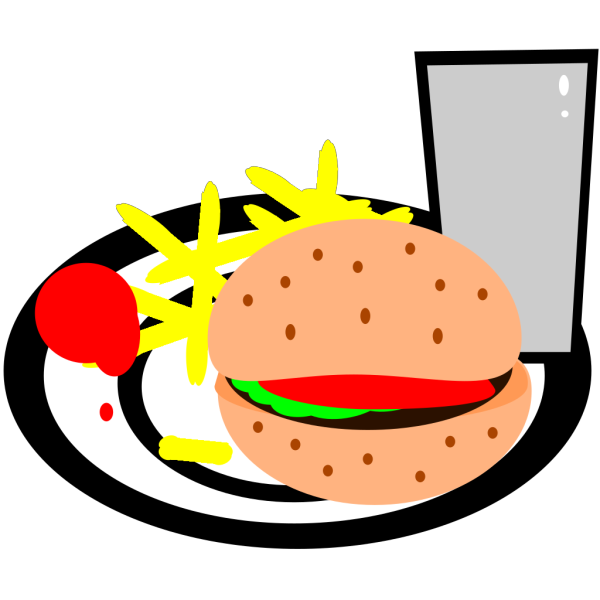 Burger And Fries PNG Clip art