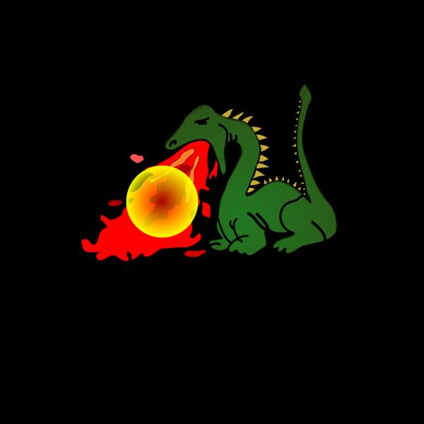 Green Dragon PNG Clip art