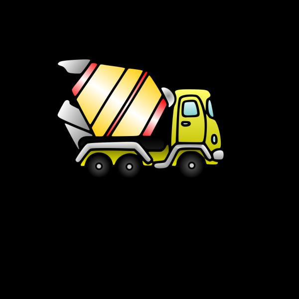 Mixer Truck PNG Clip art