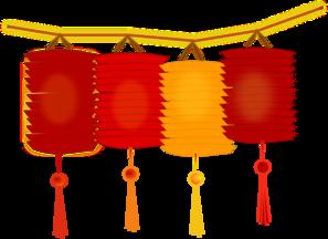 Paper Lanterns PNG Clip art
