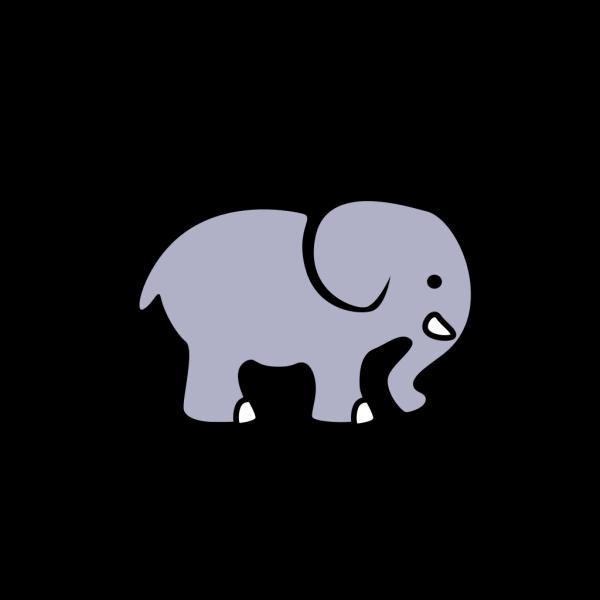 Elephant - Grey PNG Clip art