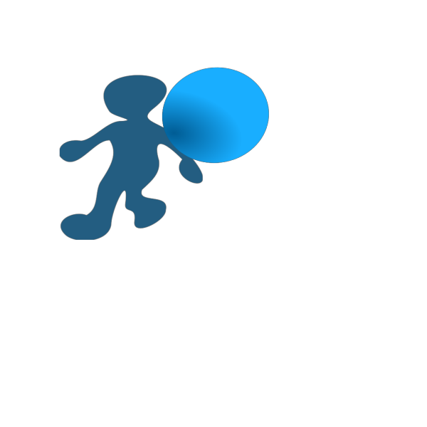 Walking Cartoon Man PNG Clip art