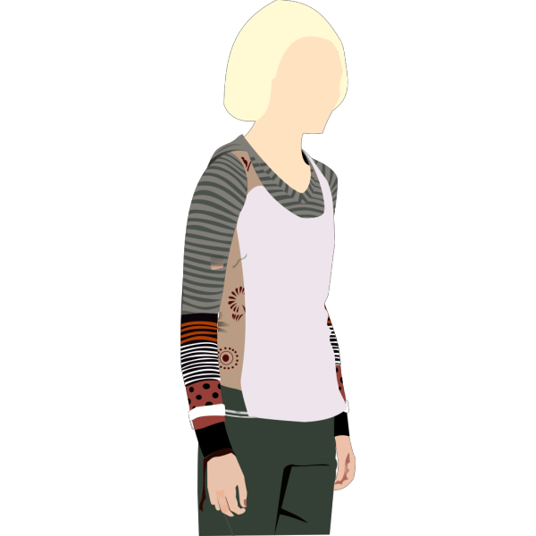 Woman Standing PNG Clip art