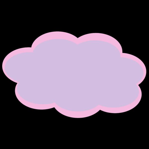 Pink Cloud PNG Clip art