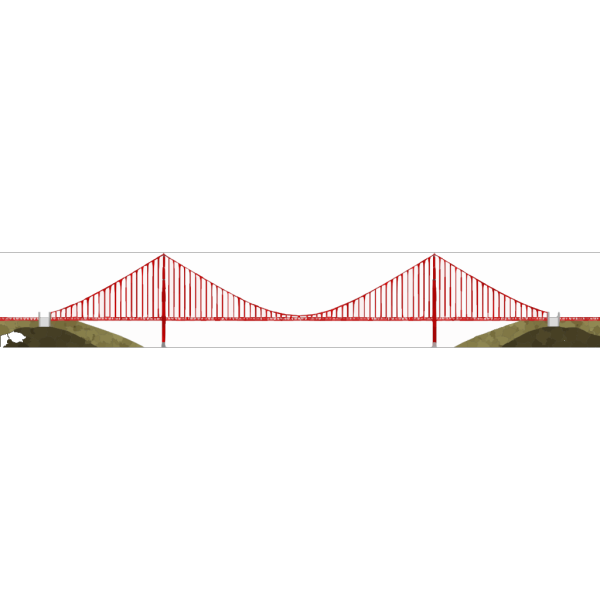 Golden Gate Bridge PNG Clip art
