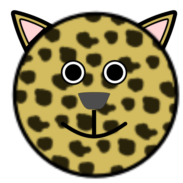 Panther Head PNG Clip art