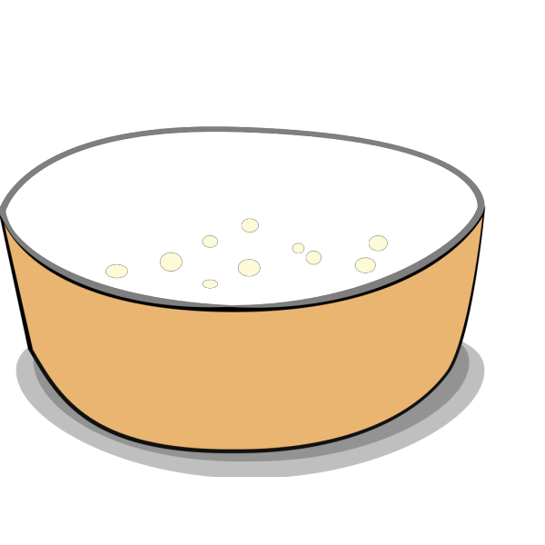 Empty Bowl PNG clipart