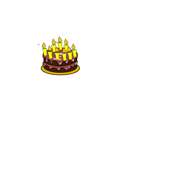 9th Birthday Cake  PNG images