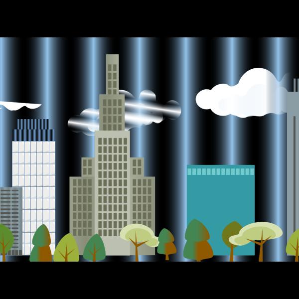 City-skyline PNG Clip art