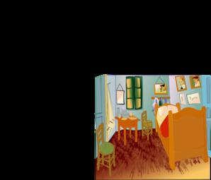 Van Gogh Room Enrique PNG Clip art