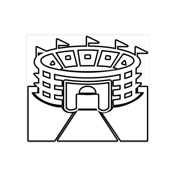 Stadium Outline PNG icon
