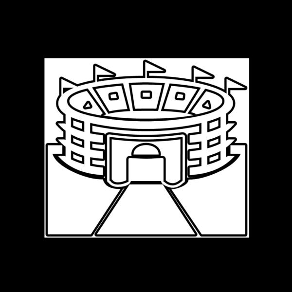 Stadium Outline PNG Clip art