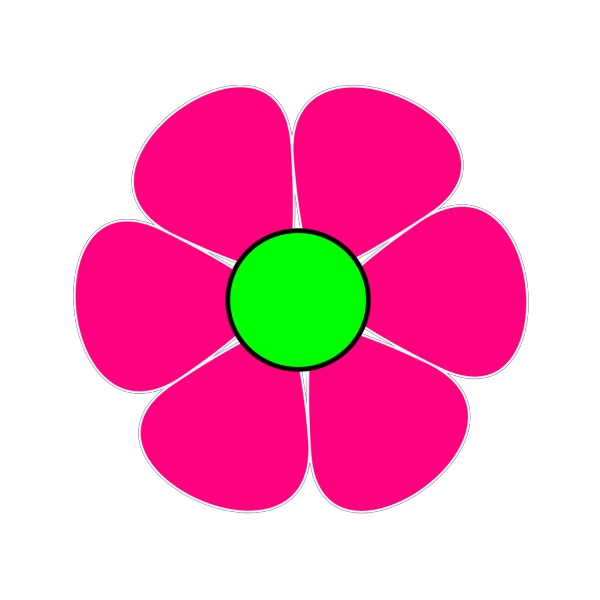 Pink Flower #2 PNG icons