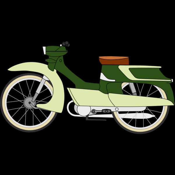 Moped Bike PNG Clip art