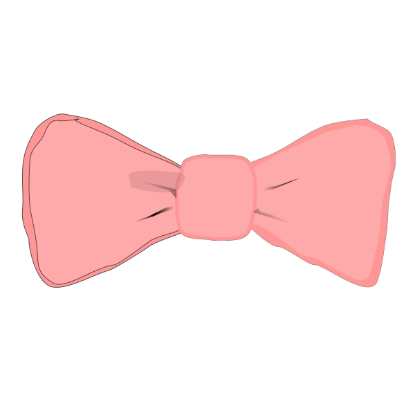 Pink Bow PNG Clip art